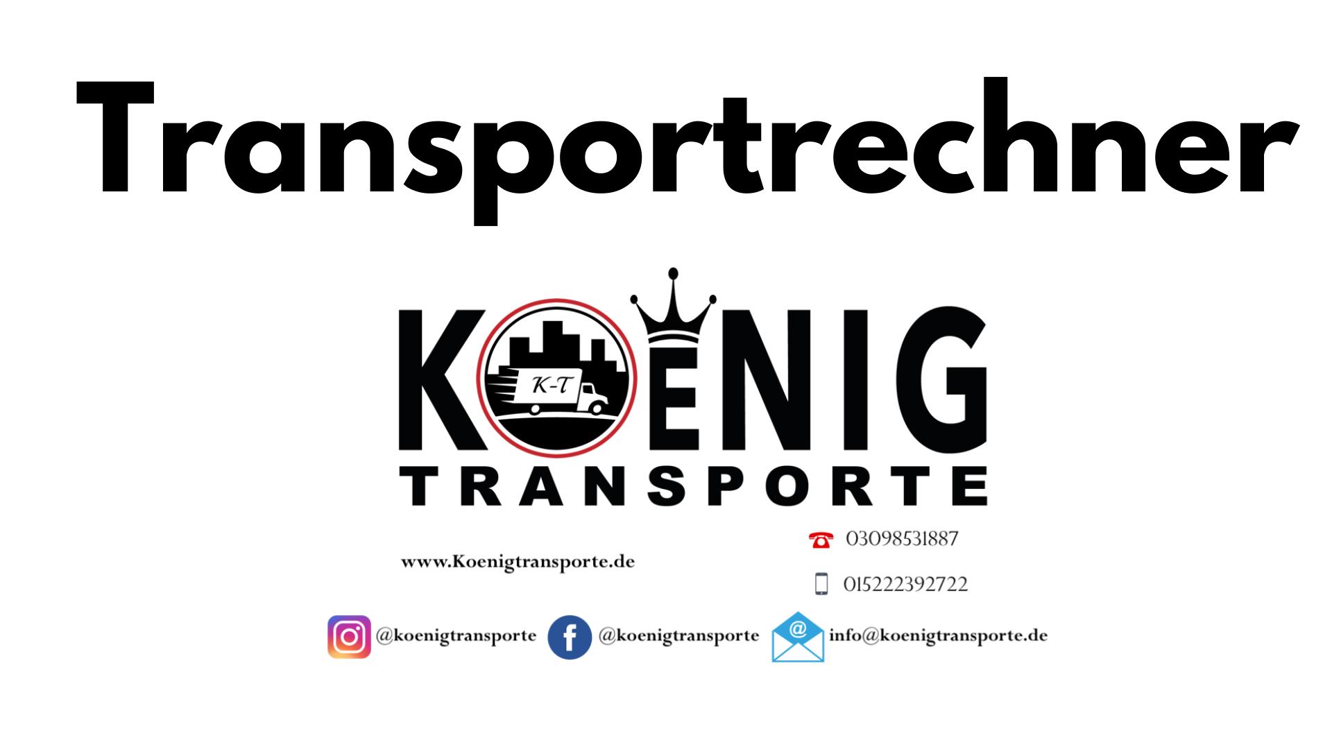 Transport kosten